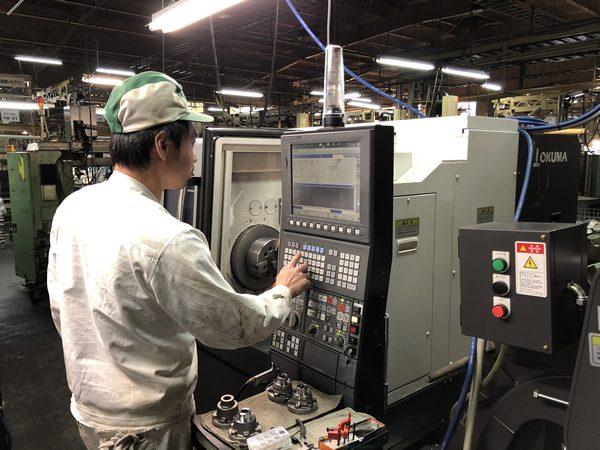 切削加工に関する様々な技術が身に着く環境