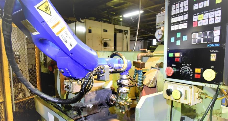 多関節ロボットの追加導入